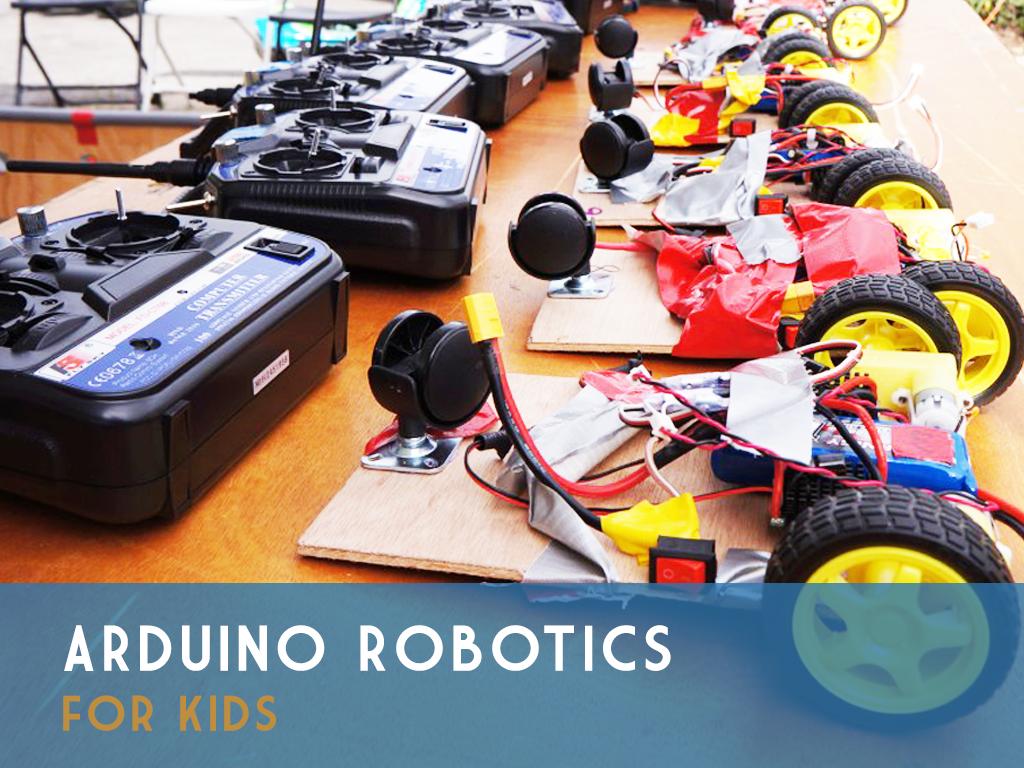 Arduino robotics for kids